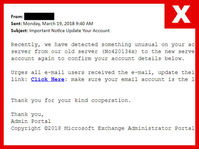 Phishing March 19, 2018